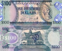 GUYANA, 100 Dollars, 2019, PNEW (Not Listed In Catalog), UNC - Guyana
