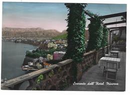9084 - SORRENTO DALL' HOTEL MINERVA NAPOLI 1953 - Andere Steden