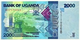 Uganda - 2000 Shillings - 2017 - Pick: 50.d - Unc. - Serie BZ - 2.000 - Uganda