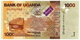 Uganda - 1000 Shillings - 2015 - Pick: 49.d - Unc. - Serie CJ - 1.000 - Uganda