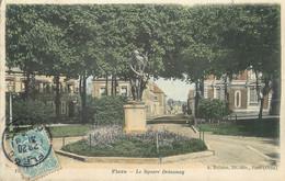 "/ CPA FRANCE 61 ""Flers, Le Square Delaunay"" / JUDAICA - Flers"