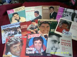 Collection De 30 Vinyles Differents De Sacha Distel - Collezioni