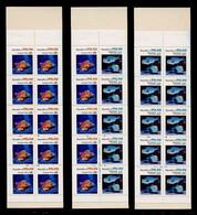 PALAU Année 1985 Carnets N° 69a , 69b 70a - Faune Marine  : Coquillages Et Poissons - Meereswelt