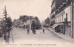 """SAINT NAZAIRE """" Rue De Mean Et Rue De Nantes """"        N°10444 - Saint Nazaire"""
