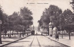 """JARNAC """" Place Du Chateau """"        N°10463 - Jarnac"""