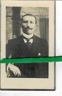 Pieter Speleers Echt Marie Ghistelinck O Wortegem 1879 + Zevergem 1948 - Images Religieuses
