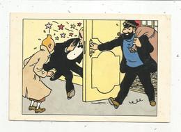 JC , G , Cp,  Bandes Dessinées ,TINTIN , Hergé - Moulinsart ,T 12 , Vierge - Fumetti