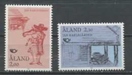 Aland - Finlande 1993 Y&T N°70 à 71 - Michel N°70 à 71 *** - Norden 93 - Aland