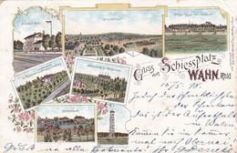 WAHN - KÖLN - NORDRHEIN-WESTFALEN - DEUTSCHLAND - LITHO-ANSICHTKARTE 1898 - SCHÖN STEMPEL. - Koeln