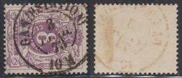 """émission 1869 - N°29 Obl Double Cercle """"Gand (station)"""" / Collection Spécialisée - 1869-1883 Leopoldo II"""