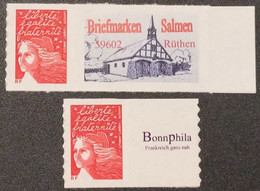 Timbres Autoadhésifs N° 3729A/3729Aa  Neuf **  TTB - Adhesive Stamps