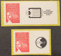 Timbres Autoadhésifs N° 3729A/3729Aa(Timbres De Roulette)  Neuf **  TTB - Adhesive Stamps