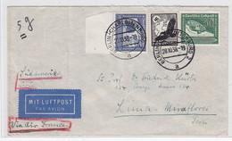 Deutsches Reich FLP-Brief Mit MIF Nach Peru+AKs - Covers & Documents