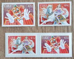 Irlande - YT N°1439A, 1439B, 1440, 1441 - EUROPA / Le Cirque - 2002 - Neuf - Nuevos