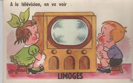87 LIMOGES (.a La Television On. Va Voir ) - Met Mechanische Systemen