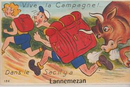 65 LANNEMEZAN ( Vive La Campagne Dans Le Sac Il Y A ) - Met Mechanische Systemen
