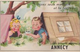 74 ANNECY ( Viens Sous Ma Tente Tu Verras ) - Met Mechanische Systemen