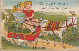 14 . LISIEUX (.au Petit Trot En Route Pour   ) - Met Mechanische Systemen