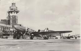 AK Speke Airport, Liverpool, Mit Propellerflugzeug Starways 1962 - Aerodromes