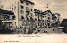 N°79481 -cpa Hôtel Sonnenberg Bei Luzern - LU Lucerne