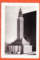 X76051 ♥️ Rare LE HAVRE Maquette Eglise SAINT-JOSEPH Reconstruction Arch. PERRET AUDIGIER 1950s Cliché FERNEZ - Altri