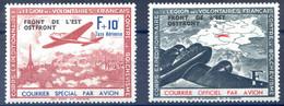 France LVF N°4 (neuf**) Et N°5 (neuf*) - Cote 35€ - (F1973) - Oorlogen