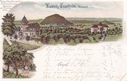 TRAUTHEIM I. ODENWALD - DARMSTADT - HESSEN - DEUTSCHLAND - LITHO-ANSICHTKARTE - 1897. - Darmstadt