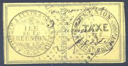 Réunion - Fiscal - TAXE D'ENGAGEMENT 3F. - (F1987) - Otros