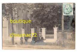1486, Val De Marne, St Saint Maur Des Fossés, Carte Photo, 13 Square Des Tilleuls, Voyagée En 190?, Bon état, Pliure Ver - Saint Maur Des Fosses