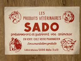 1 BUVARD SADO - Animals