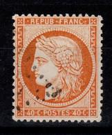 Siege - YV 38 Oblitere , Pas Aminci, Cote 12 Euros - 1870 Siege Of Paris