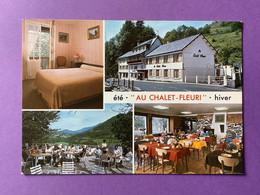 15   CPSM    SAINT-JACQUES-DES-BLATS  Hôtel «Au Chalet Fleuri»     Très Bon état - Otros Municipios