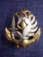 Insigne De Béret Régiment Parachutiste D' Infanterie De Marine - TAP - RPIMa - Cascos