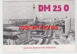 72770 QSL Karte Funker Funkamateur DDR Berlin DM250 1974 - Sin Clasificación
