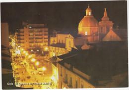 Gela - Il Corso E La Chiesa Madra - Gela