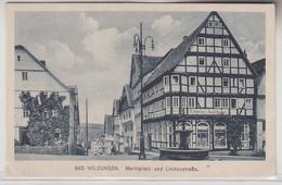 70533 Ak Bad Wildungen Marktplatz Und Lindenstraße Um 1930 - Non Classificati