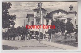 69458 Ak Seebad Misdroy Miedzyzdroje Bismarckstrasse Villa Jaeger Um 1910 - Pommern