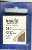 Hawid - Pochettes 26x31 Fond Noir - Taschine