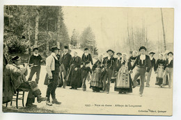 29 Abbaye De LANGONNET Noce En Danse Musiciens 1910 - Villard Num   1337      /D15-2017 - Otros Municipios