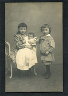 Carte Photo - Enfants Et Bébé  (dos Non Divisé) - Bebes