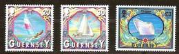 Guernsey Guernesey 2000 Yvertn° 865-867 *** MNH Cote 16,50 Euro Bateaux Boten Ships - Guernsey