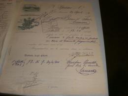 LETTERA SU CARTA INTESTATA DITTA SPANO' & C. 1904 MARSALA -STABILIMENTO ENOLOGICO VINI MARSALA - Italia