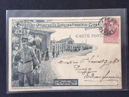 Exposition Universelle Internationale De Liège-1905-Les Chemins De Fer - Liege
