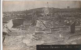 Loncin, Ruine Du Fort, 2 Scans - Guerre 1914-18
