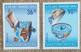 Hongrie - YT N°3789, 3790 - L'eau, Richesse Naturelle / Europa - 2001 - Neuf - Nuovi