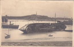 35  ST MALO  (Militaria Guerre De 1940) : Effets Du Bombardement D'Août 1944 Sur Le Port. - Saint Malo