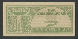 INDONESIA. 1 SEN 17/10/1945. Pick 13.  UNC / NEUF. - Indonesië