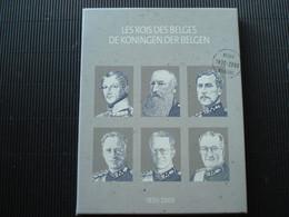 Verzamelbox++de Koningen Der Belgen  1830-2000++beperkte Oplage++aankoopprijs Was 60,74 €++met Postfriss Zegels++ - Colecciones