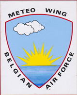 Meteo Wing Belgian Air Force Sticker Autocollant Aufkleber Luchtmacht - Pegatinas