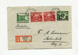 !!! ALLEMAGNE, LETTRE RECO DE KARLSRUHE DE 1940 - Covers & Documents